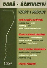 Daně, účetnictví 01/2007