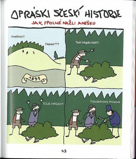 Náhled Opráski sčeskí historje 2 - rukovjeť českí historje pro inteleguáni