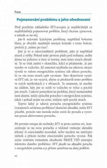 Náhled Proklepej se ke zdraví - Poklepová akupresura EFT