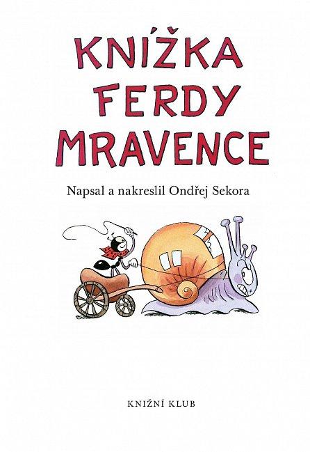 Náhled Knížka Ferdy Mravence