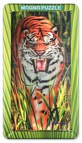 32 d. 3D Magnetické puzzle Tygr