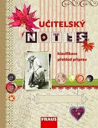 Učitelský notes s motivem Scrapbook s knoflíky