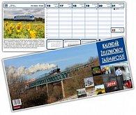 Kalendář železničních zajímavostí 2014 - stolní kalendář