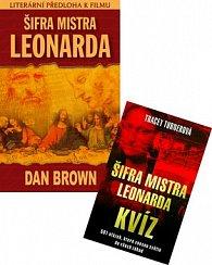Balíček 2ks Šifra mistra Leonarda + Šifra mistra Leonarda Kvíz