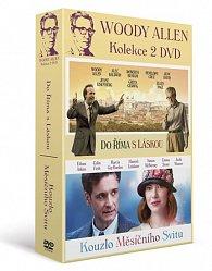 Woody Allen - kolekce 2DVD/Kouzlo měsíčního svitu + Do Říma sláskou