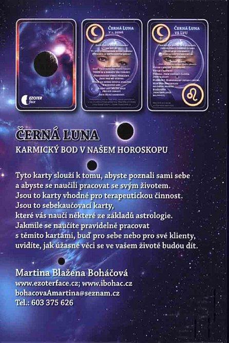 Náhled Černá Luna, karmický bod v našem horoskopu + karty Černá Luna