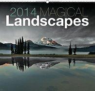 Kalendář 2014 - Magické krajiny - nástěnný s prodlouženými zády