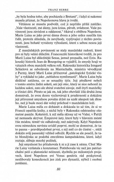 Náhled Marie Luisa - Napoleon byl její osud