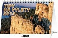 Tipy na výlety - stolní kalendář 2014