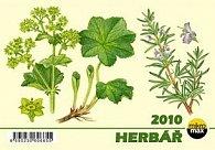 Herbář 2010 - stolní kalendář