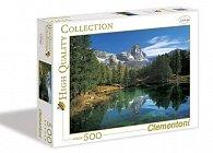 Puzzle 500 dílků Jezero Laka
