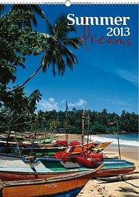 Kalendář 2013 nástěnný - Summer Dreams, 33 x 46 cm
