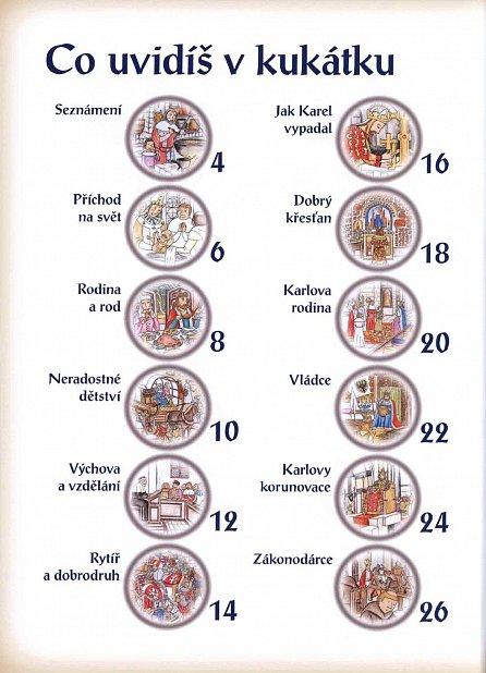 Náhled Karel IV. v kouzelném kukátku Pohledy do života římského císaře a českého krále