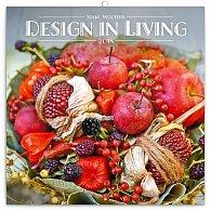 Kalendář poznámkový 2018 - Design in Living – Marc Wouters, 30 x 30 cm