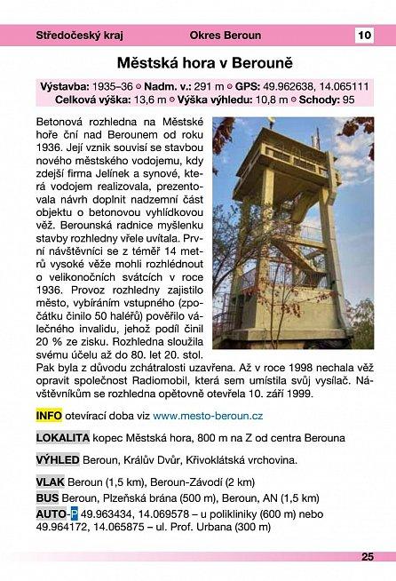 Náhled Rozhledny České republiky