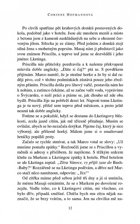 Náhled Příběh bílé Masajky - 2. vydání