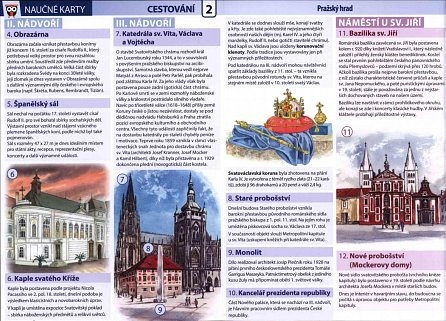 Náhled Pražský hrad - Naučné karty
