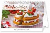 Múčníky a sladkosti - stolový kalendár 2016