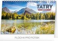 Tatry - stolový kalendár 2017