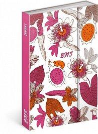 Diář 2015 - Pink Fruits (CZ, SK, HU, PL, RU, GB)