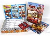 Balíček 4ks Kufřík na autíčko, vystřihovánka, časopis Auta s hračkou