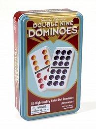 Domino Double 9 - Mexický vlak Pressman