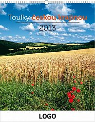 Kalendář 2013 - Toulky Českou krajinou praktik, 30 x 34 cm