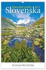 Národné parky Slovenska - nástěnný kalendář 2015