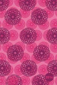 Diář 2014 - Mandala malá - Týdenní magnetický (ČES, SLO, MAĎ, POL, RUS, ANG)