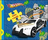 Hot Wheels kniha s puzzle