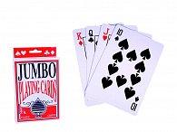 Hrací karty kanastové XXL