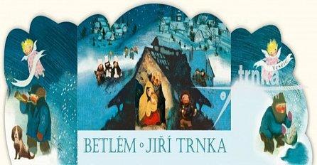 Náhled Betlém skládací + Vánoční koledy s notami