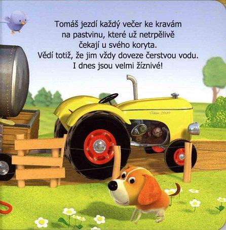 Náhled Malý chlapec - Tomášův traktor