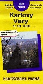 Karlovy Vary 1:10 000