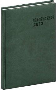 Diář 2013 - Tucson-Vivella - Týdenní B5, tmavě zelená, 17,5 x 24,5 cm