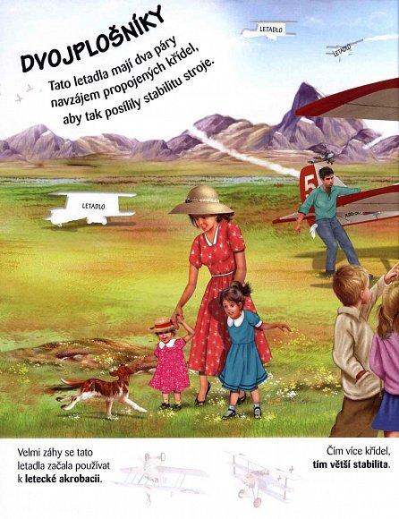 Náhled Letadla - Objevuj a nalep