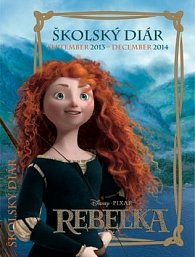 W. Disney Rebelka školský diár 2014