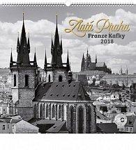 Kalendář nástěnný 2018 - Zlatá Praha