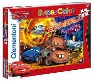 Puzzle Supercolor 250 dílků Auta-Spyvworld