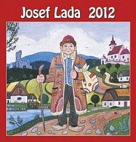 Kalendář nástěnný 2012 - Josef Lada - Hloupý Honza, 44 x 46 cm