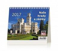 Kalendář stolní 2017 - MiniMax/Naše hrady a zámky