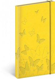 Diář 2017 - Vivella speciál - kapesní/žlutý
