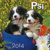 Psi - nástěnný kalendář 2014