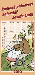 Josef Lada Rodinný kalendář 2010 - nástěnný kalendář