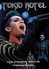 Kalendář 2012 - Tokio Hotel
