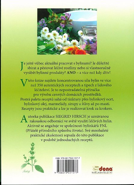 Náhled Kniha osvědčených bylinkových receptů