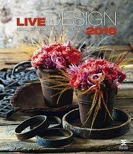 Kalendář nástěnný 2016 - Live Design/Exklusive