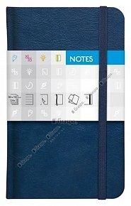 Notes Saturn modrý linkovaný standard