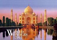 Kalendář 2014 - World Wonders - nástěnný