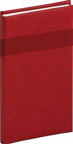 Diář 2013 - Aprint - Kapesní Praktik, červená, 9 x 15,5 cm